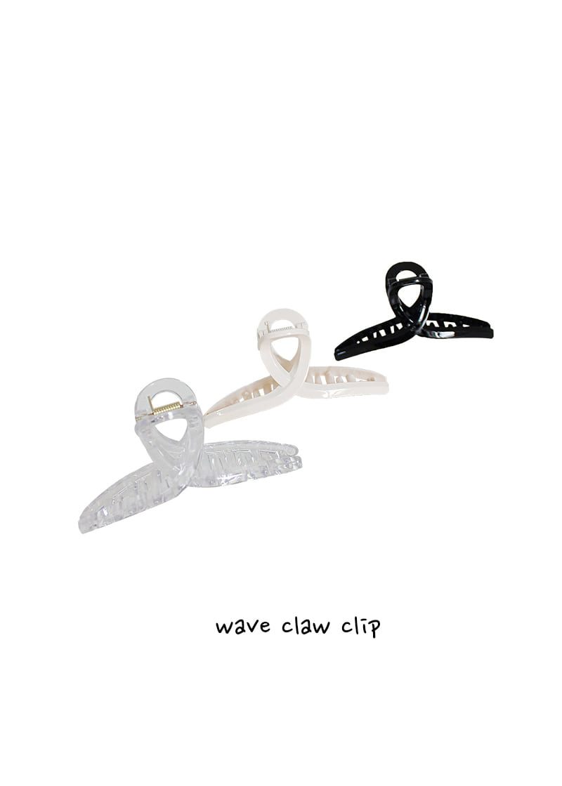 wave claw clip (3c)